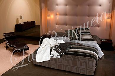 Cabezales de cama de tela