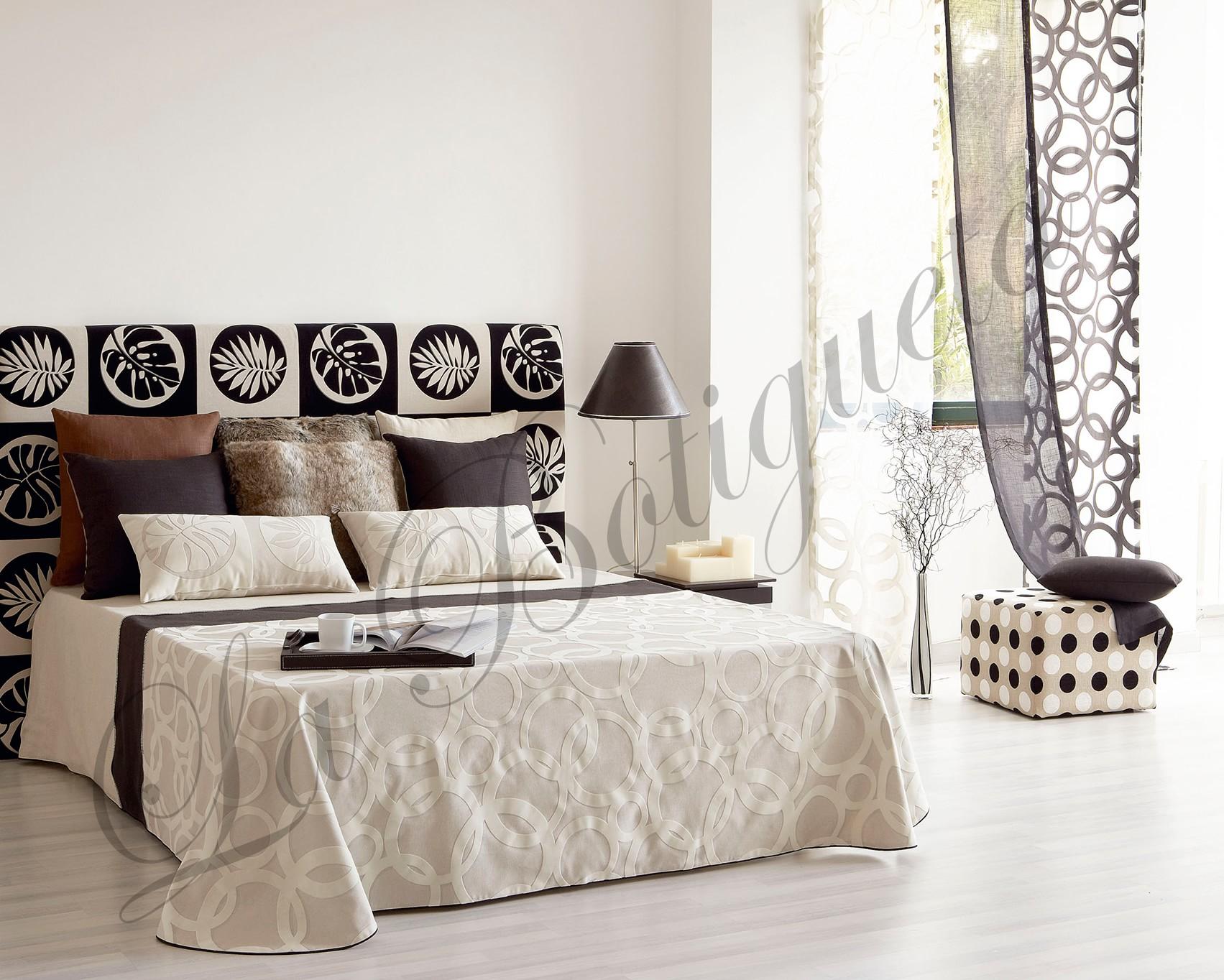 Cabeceros y cabezales de cama tapizados con tela muy - Cabezales de tela ...