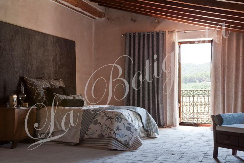 Dormitorio Matrimonio Rustico Segunda Mano : Cortinas para habitacion de matrimonio