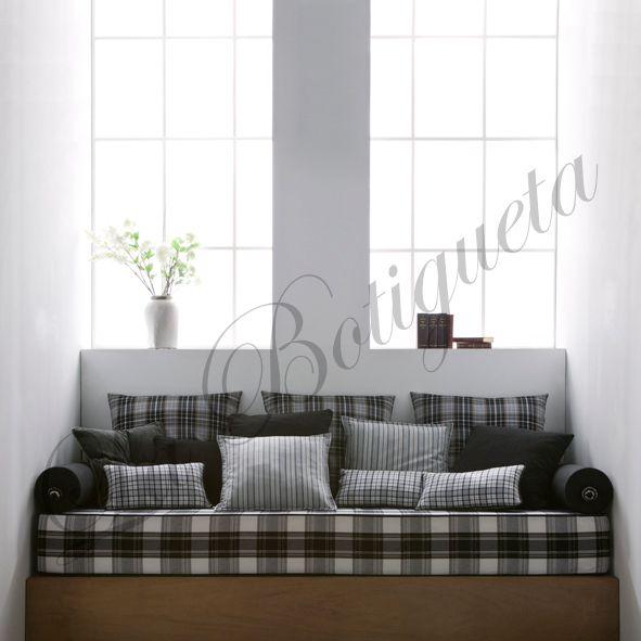 Edredones colchas de cama y telas para cojines personalizadas - Cortinas habitaciones juveniles ...