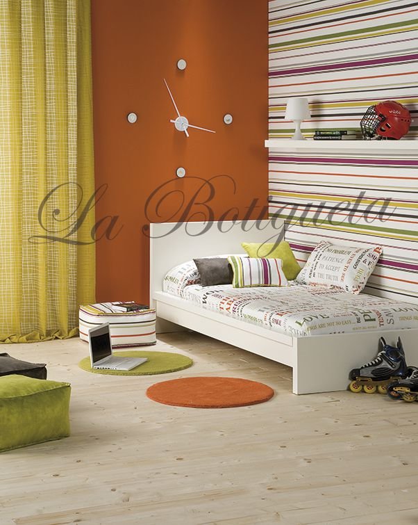 Estores y cortinas para habitaciones juveniles modernas y for Como decorar tu pieza juvenil