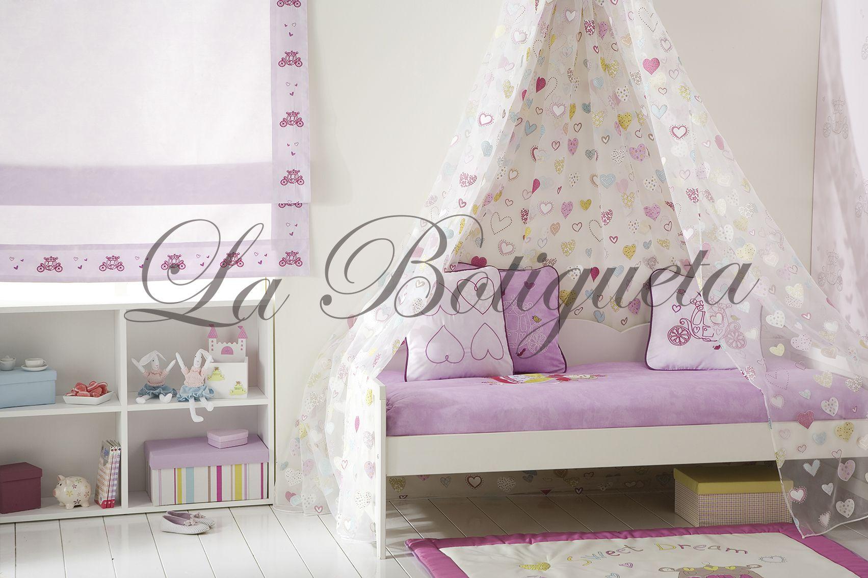 Estores y cortinas para habitaciones juveniles modernas y - Cortinas habitacion ...