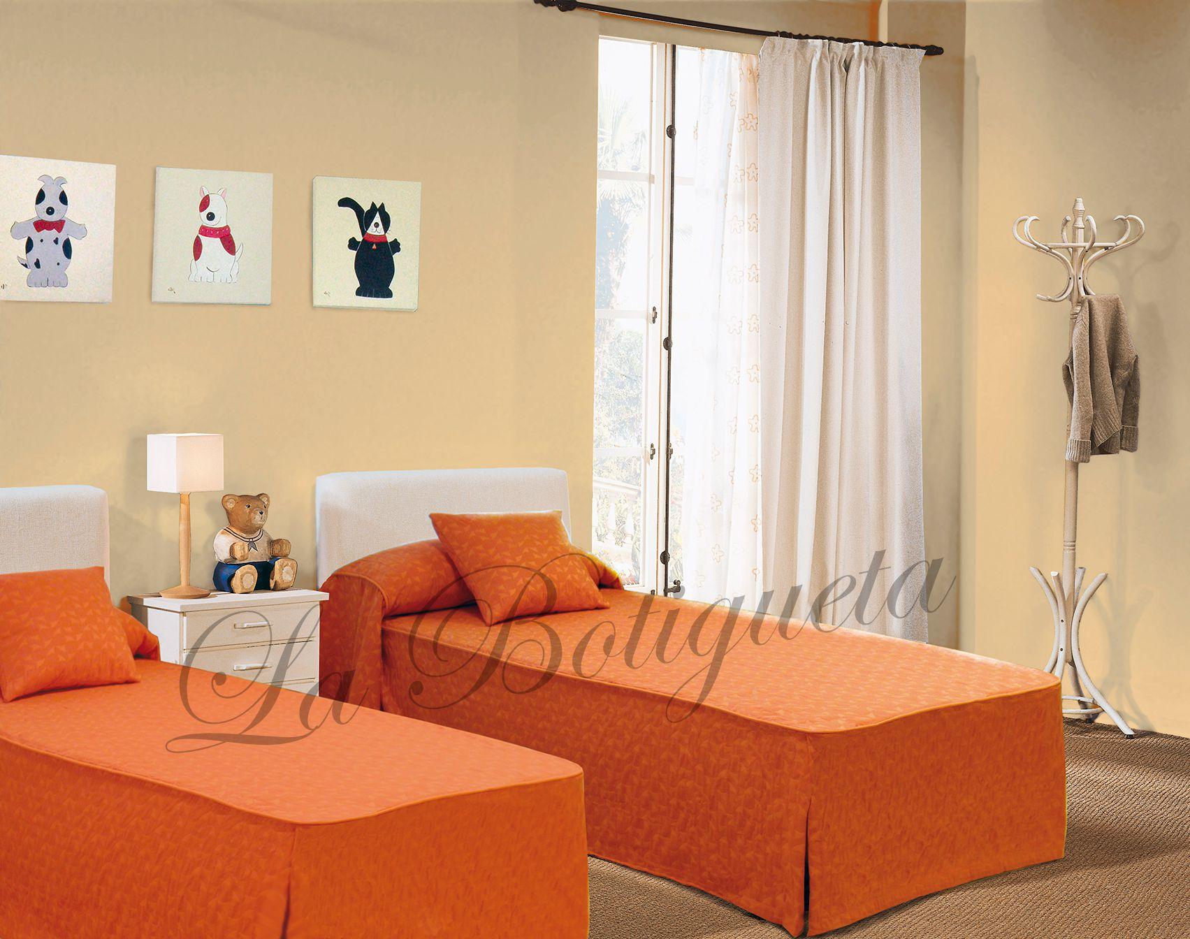 Estores y cortinas para habitaciones juveniles modernas y - Cortinas para dormitorio juvenil ...