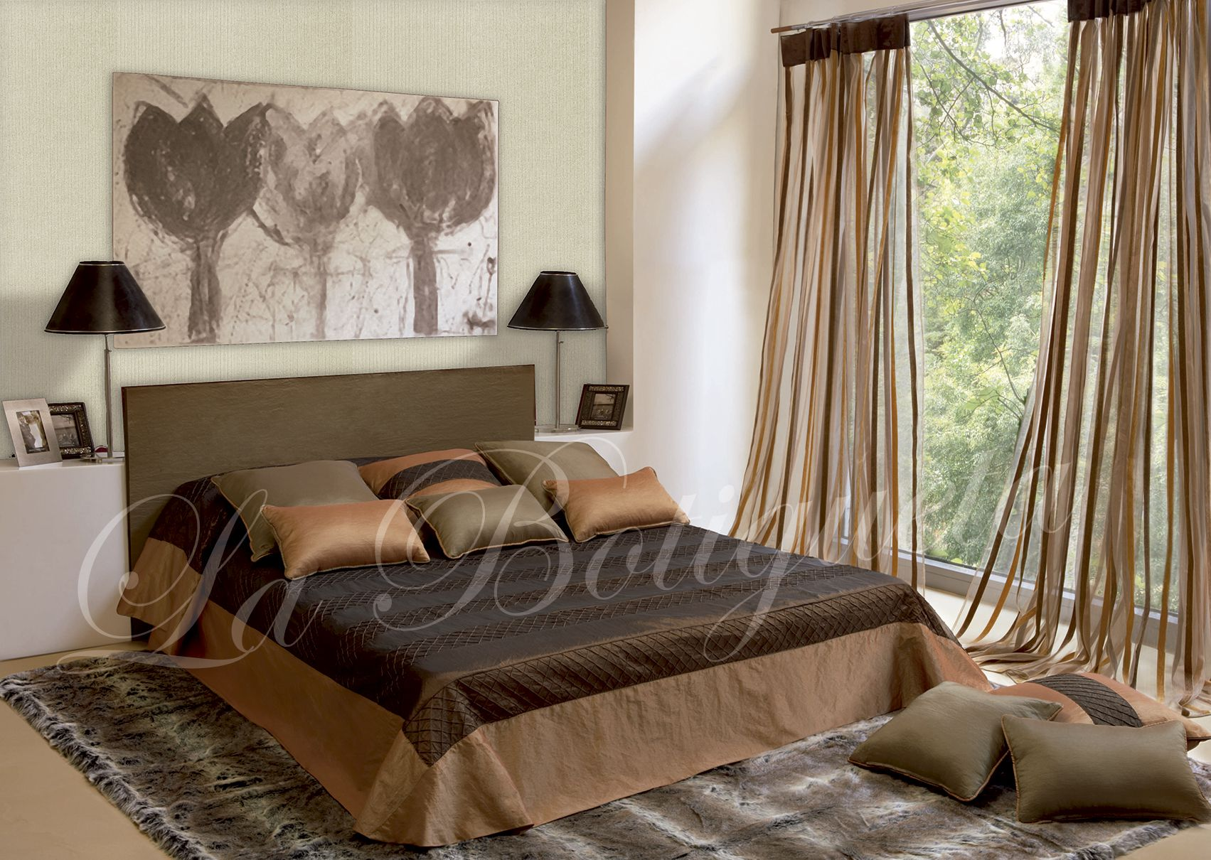 Estor dormitorio matrimonio diferentes tipos de cortinas - Estores dormitorio matrimonio ...