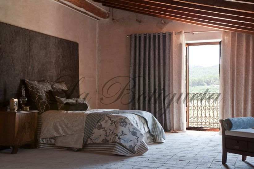 Cortinas para habitaci n y dormitorio de matrimonio modernas for Cortinas habitacion matrimonio
