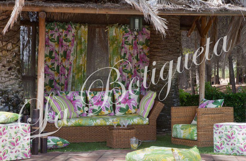 Toldos y cortinas exteriores para terrazas de tela resistente - Toldos de tela para terrazas ...